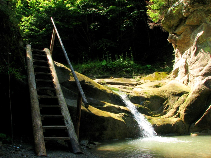 отдых в черновицкой области на водопадах